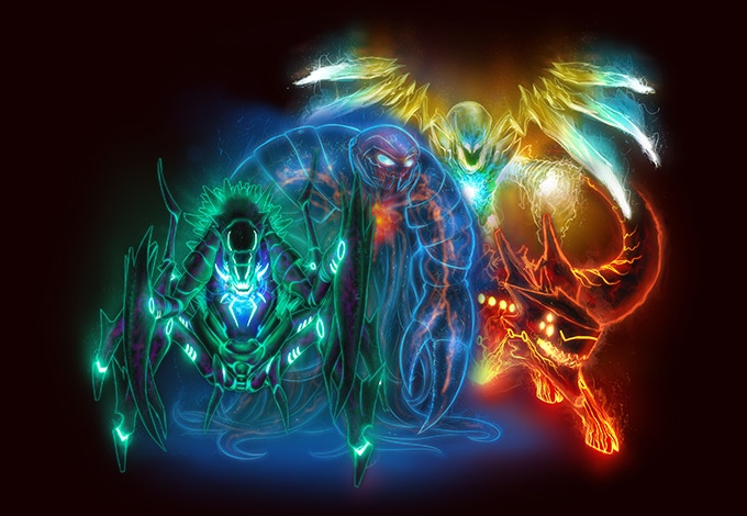 The Four Energy Totems