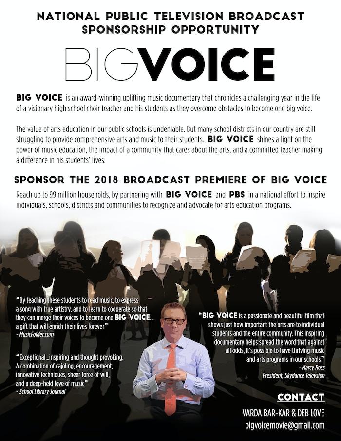 Big Voice    dare to dream by Varda Hardy — Kickstarter