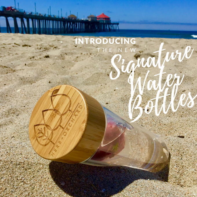 Our beautiful signature 15oz. water bottles are Eco-Friendly and BPA-Free. Elegantly made with thick double walled glass to maximize hot/cold insulation while topping it off with a classy stainless steel/bamboo lid