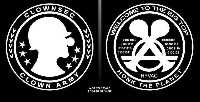 2 Round Stickers