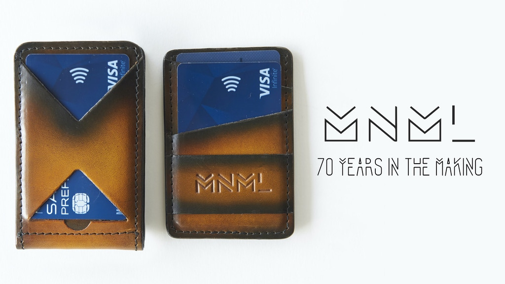 MNML - A Wallet 70 Years in the Making. project video thumbnail