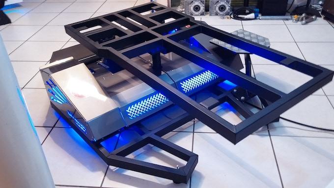 CR motion v1.2 - 2DOF motion platform
