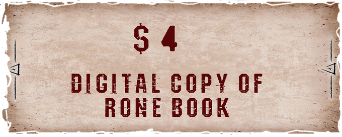 Digital version of the book with story from RONE world (about 40 pages).