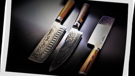 Nagasaki Knife Collection - Japanese Damascus VG-10 Steel