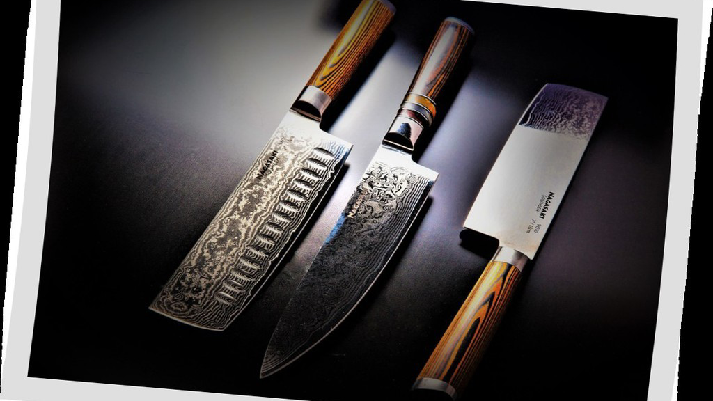 Nagasaki Knife Collection - Japanese Damascus VG-10 Steel project video thumbnail