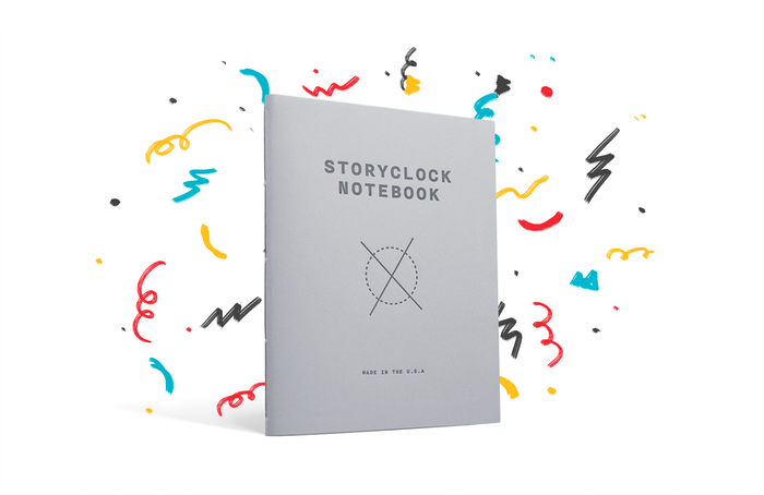 story clock notebook pdf download