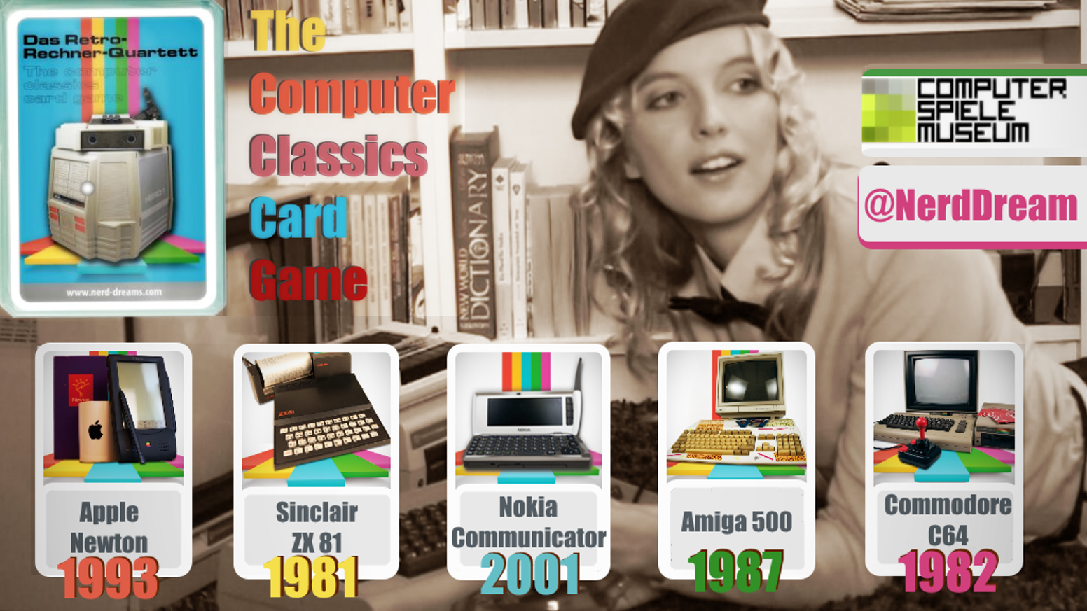 What was your first computer? The Computer Classics Card Game features 32 digital milestones from a time long before smartphones.