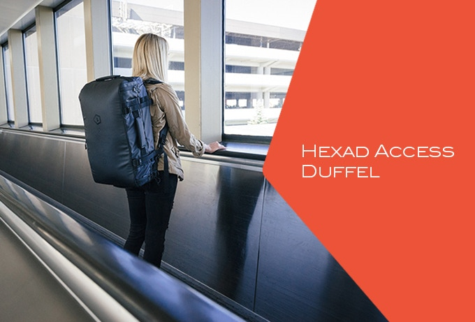The Hexad Duffel The Ultimate Carryall And Travel