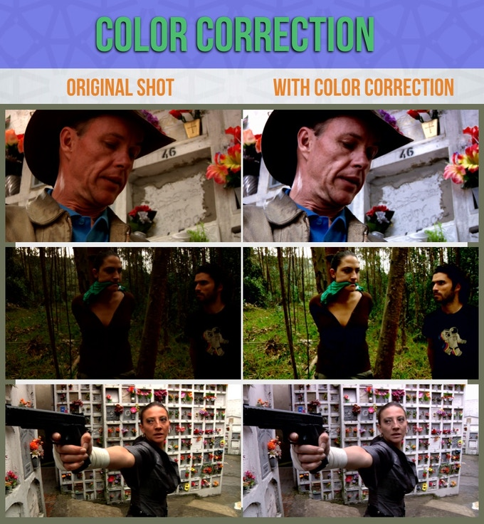 Color Correction Examples