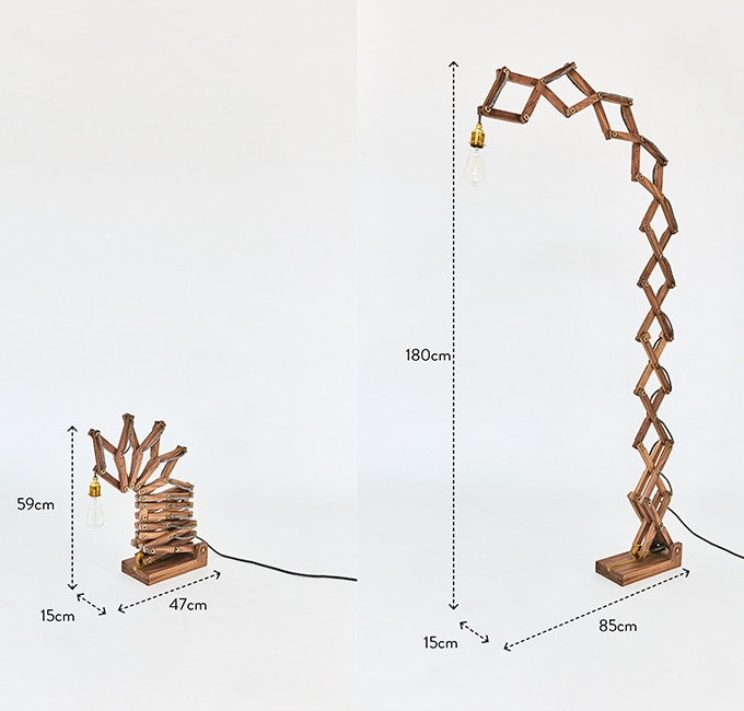 Crane Lamp Floor Dimensions