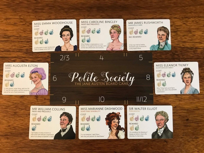 Polite Society: Winning Table Example