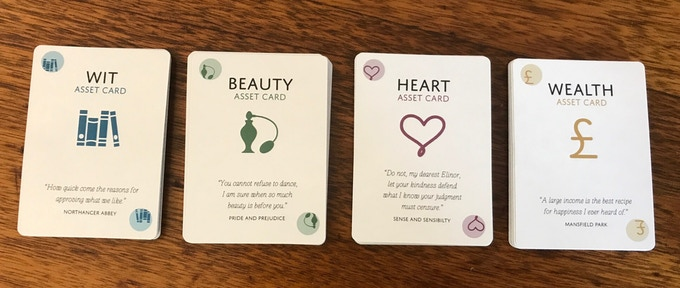 Asset Bank (Asset Cards - Wit, Beauty, Heart and Wealth)