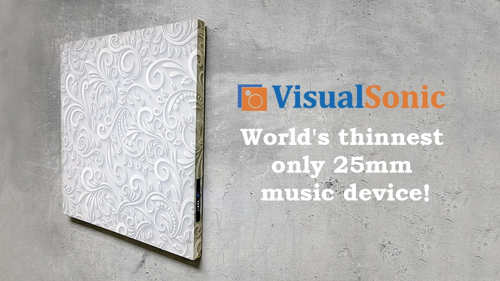VisualSonic - Combine your love for Music & Art in just 25mm project video thumbnail