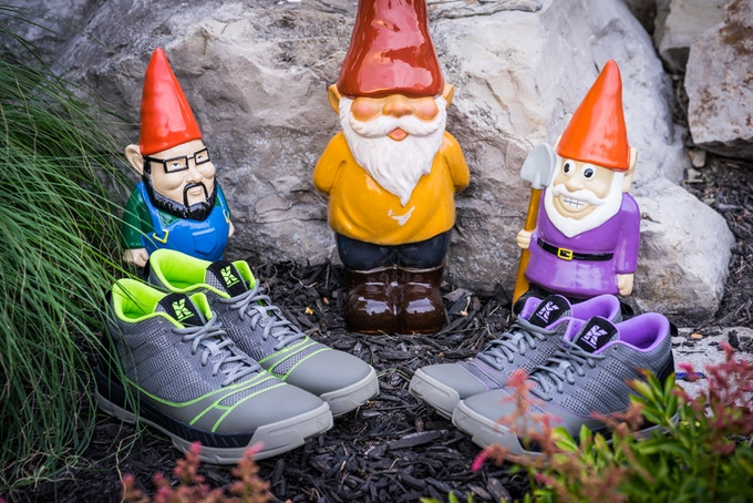 Kujo Yard Shoes have been endorsed by the Garden Gnome Community