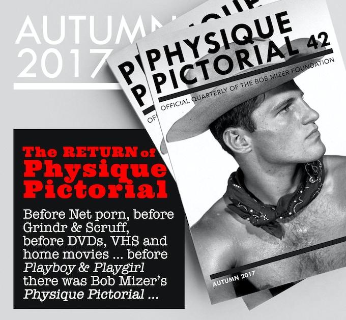 Physique Pictorial Volume 47 [Winter 2018] - BOB MIZER