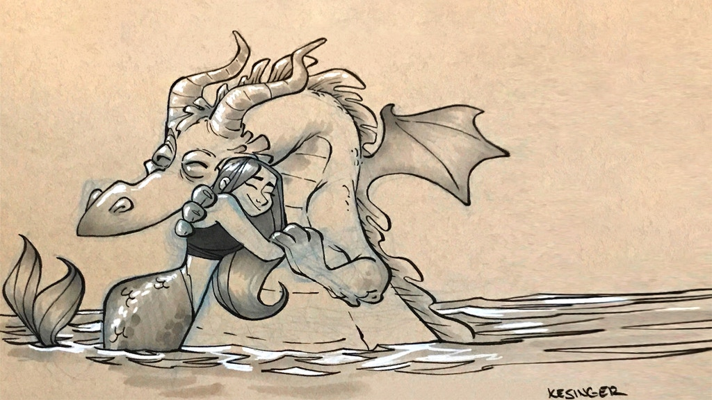 Dragons vs. Mermaids (Just Kidding!) project video thumbnail
