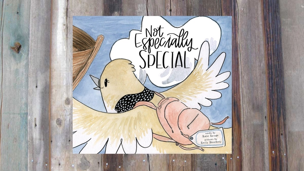 Not Especially Special: A Children's Picture Book project video thumbnail