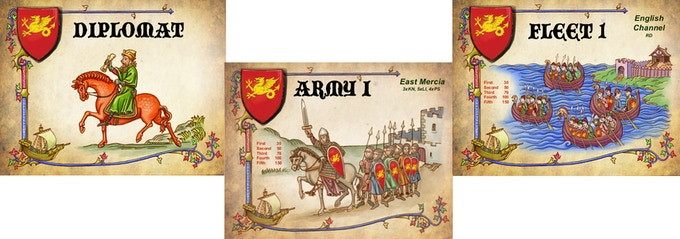 Anglo Saxon Cards