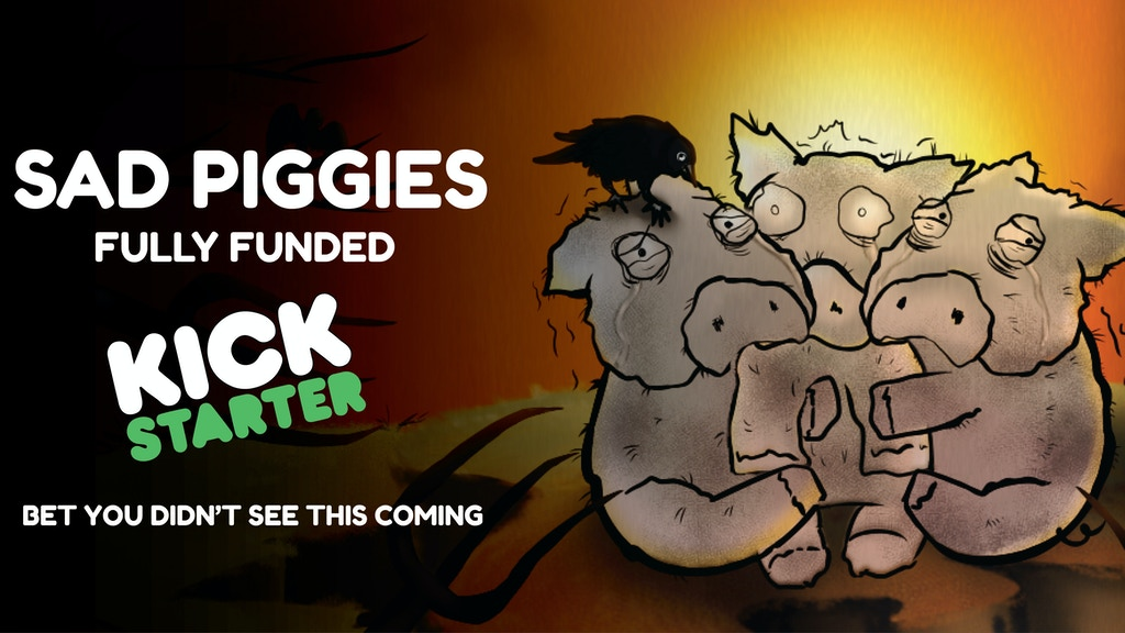 Sad Piggies - A Card Game of Pigs Wanting to Die Honorably. project video thumbnail