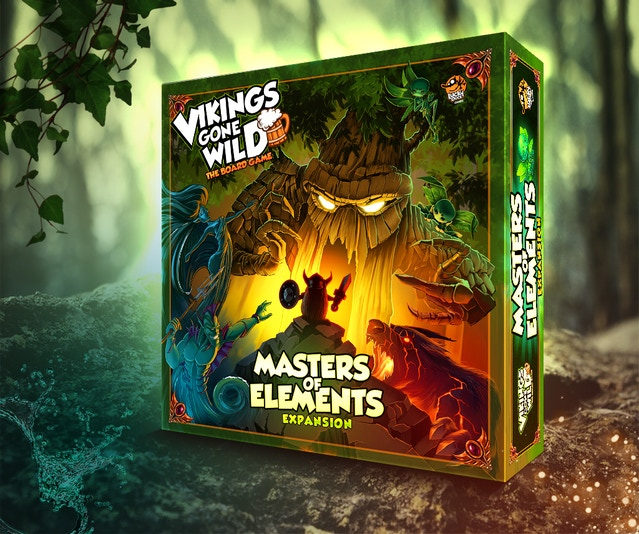 vikings gone wild the board game by lucky duck games kickstarter