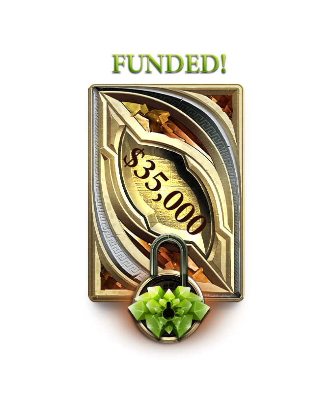 FUNDED! The Saga has officially begun! Thank YOU for your support!