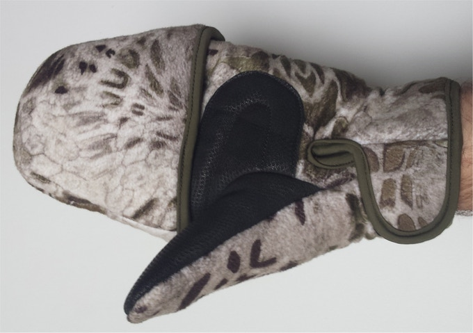 56ffd8a6b9a4d Mittens have a removable top and magnet catch. They are available in 6  styles. Camo styles are Realtree Xtra, Prym1 MP, Prym1 White Out and Prym1  Pink Out.