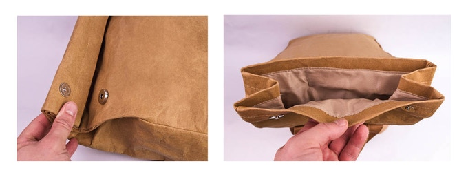 How the DrawBag opens and closes