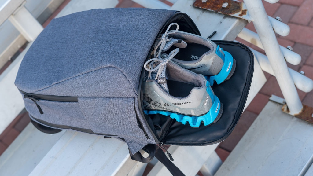 ARES | The Versatile Backpack For Work & Gym Needs project video thumbnail
