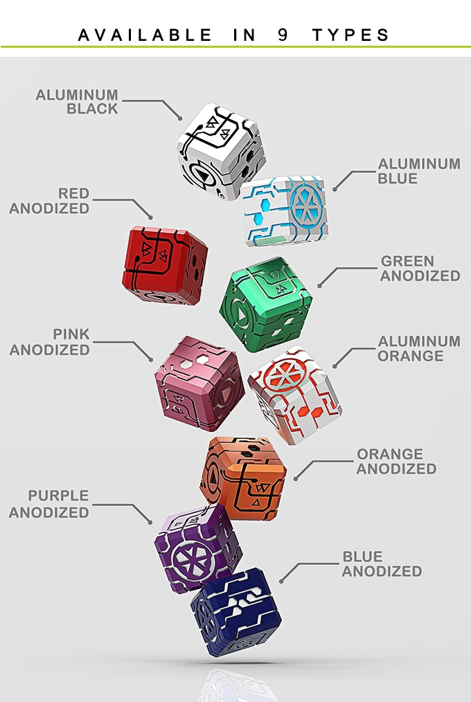 Endless Dice available selections.