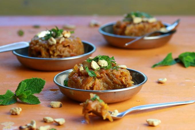 Gajur Halava - Bengali carrot pudding