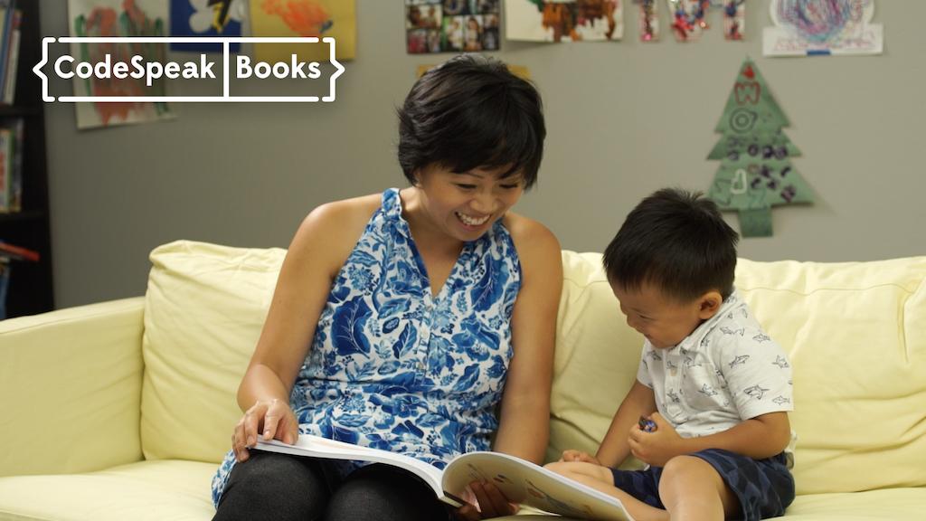 CodeSpeak Books: Picture Books for Inspiring Little Coders project video thumbnail