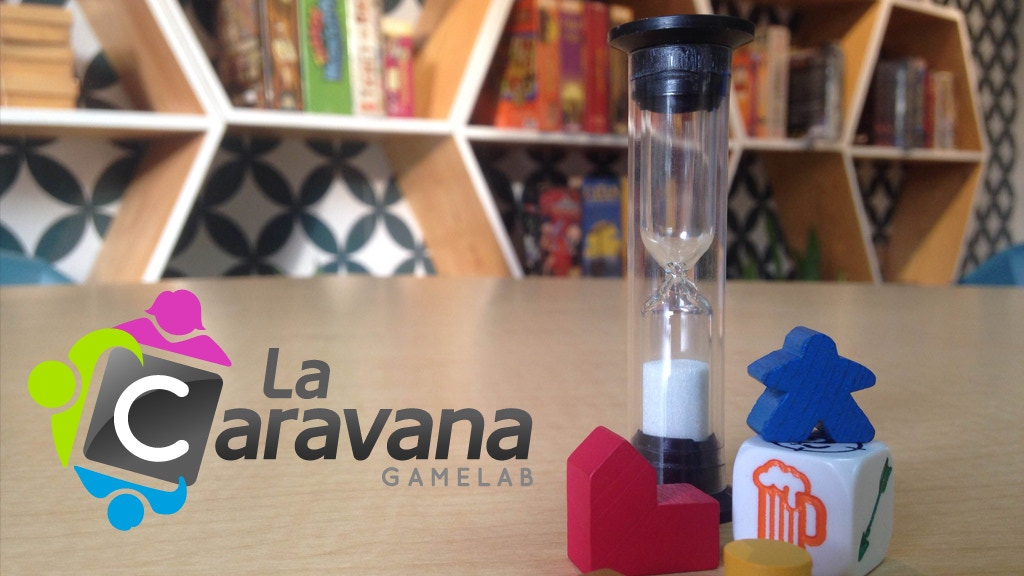 La Caravana - Board Game Club in Mexico City project video thumbnail