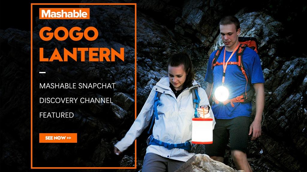 GOGO Lantern : Redefine outdoor lantern project video thumbnail