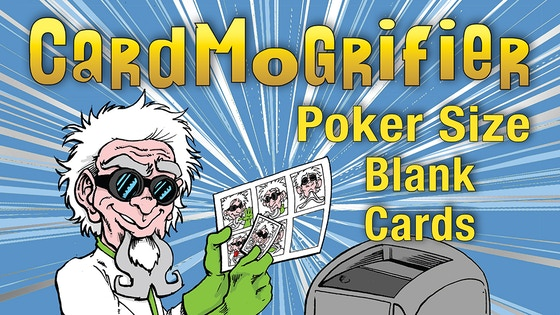 CardMogrifier Poker Size Blank Cards and Templates