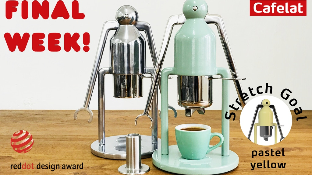Cafelat Robot - Manual Espresso Coffee Maker project video thumbnail