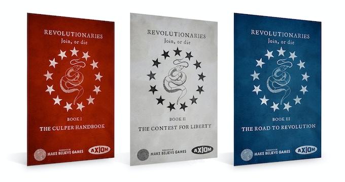 REVOLUTIONARIES — American War of Independence RPG by Make