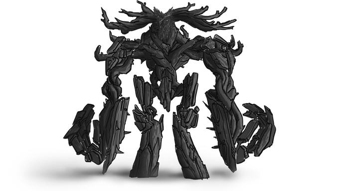 Jizaraga - the Spirit of Withered Tree