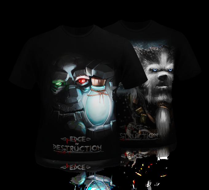 Common Edge of Destruction T-Shirts
