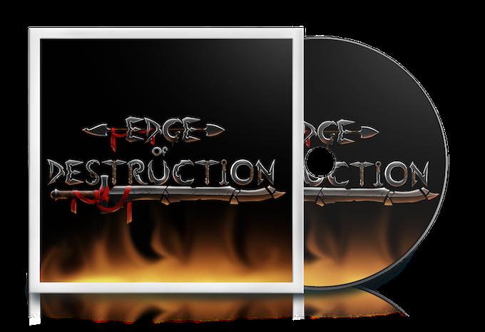 Physical Edge of Destruction game CD