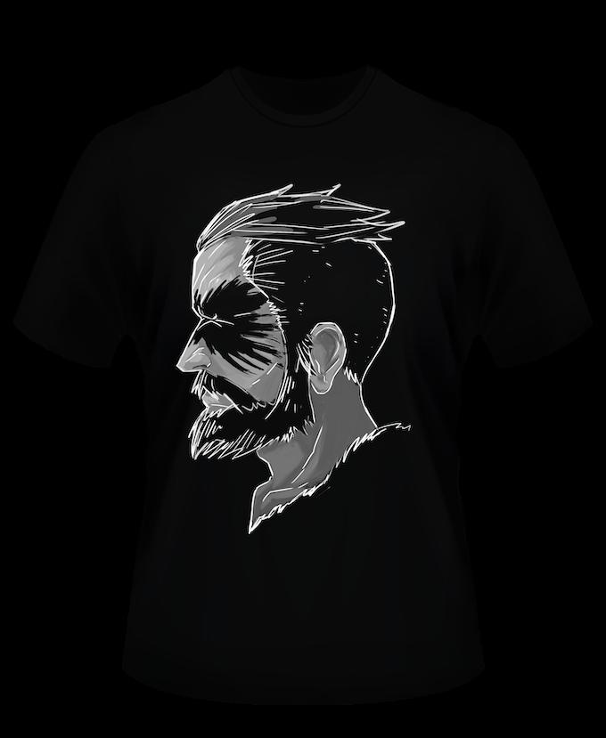 Designed Human T-shirt