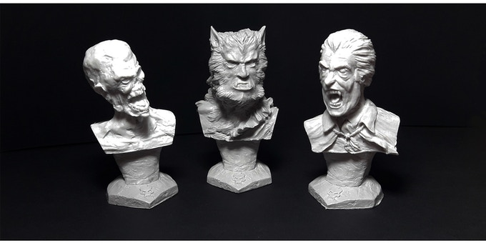 Taste Of Horror - Busts Collection by Mystical World Miniatures