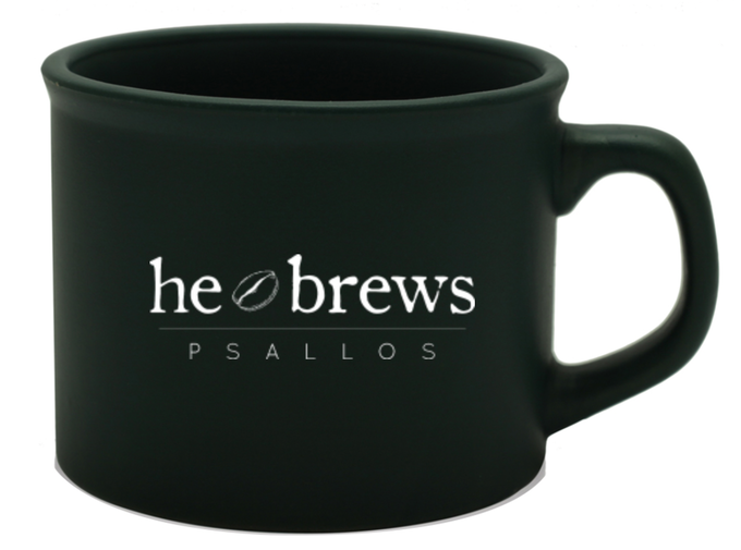 "The ""He Brews"" Coffee Mug"