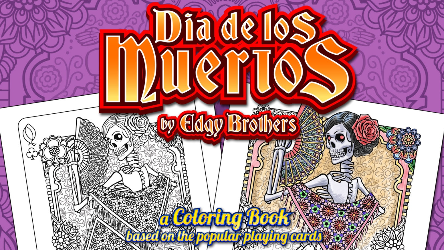 Dia de los Muertos Coloring Book by Edgy Brothers by Edgy Brothers ...