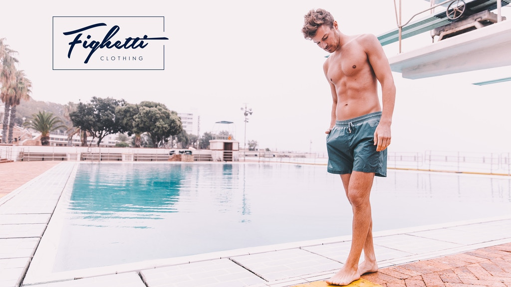 Fighetti - Sustainable Swim Shorts Made From Waste