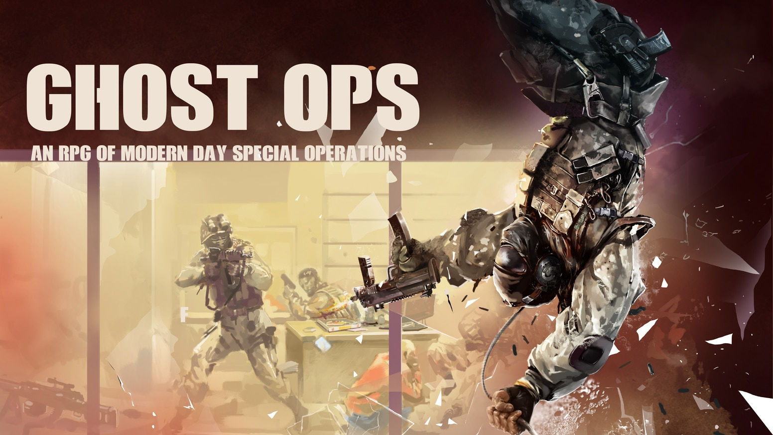 Ghost Ops - An RPG of Modern Day Covert Operations by