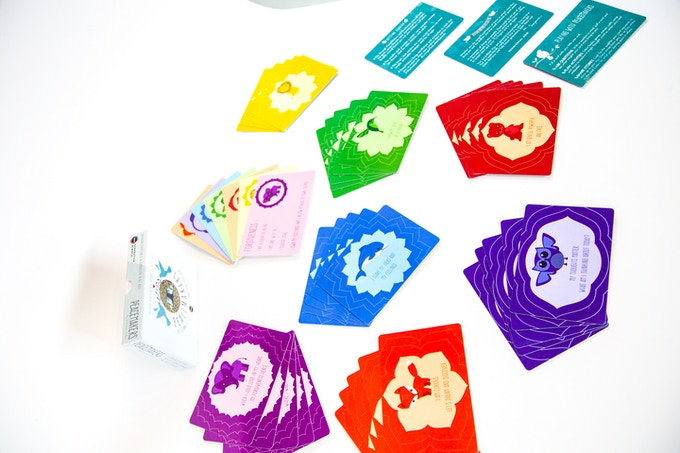 The deck of 42 PeaceMakers cards explore seven themes and come with seven ways to play, ideal for kids ages 3 and up. You are never too old for mindfulness and thus, you are never too old for PeaceMakers.