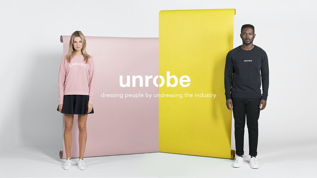 Unrobe || Dressing people by undressing the industry project video thumbnail