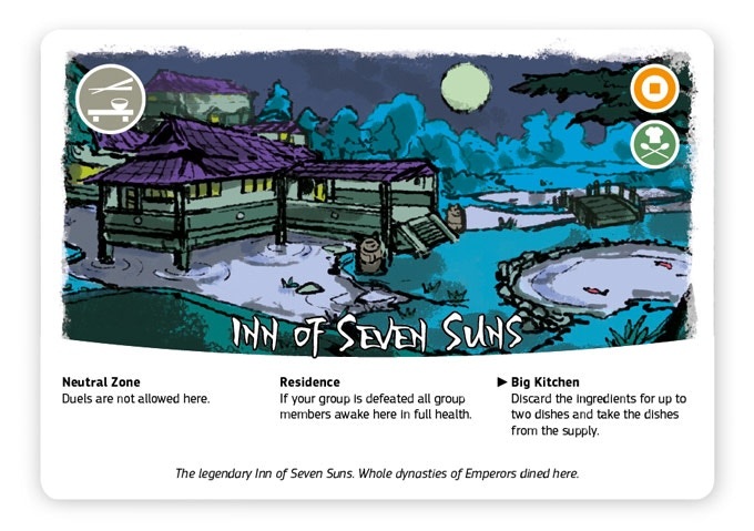 The legendary Inn of Seven Suns