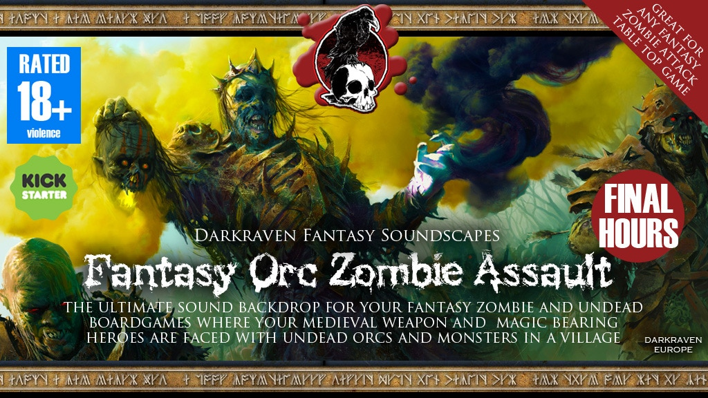 Fantasy Orc Zombie Assault - by Darkraven Europe project video thumbnail