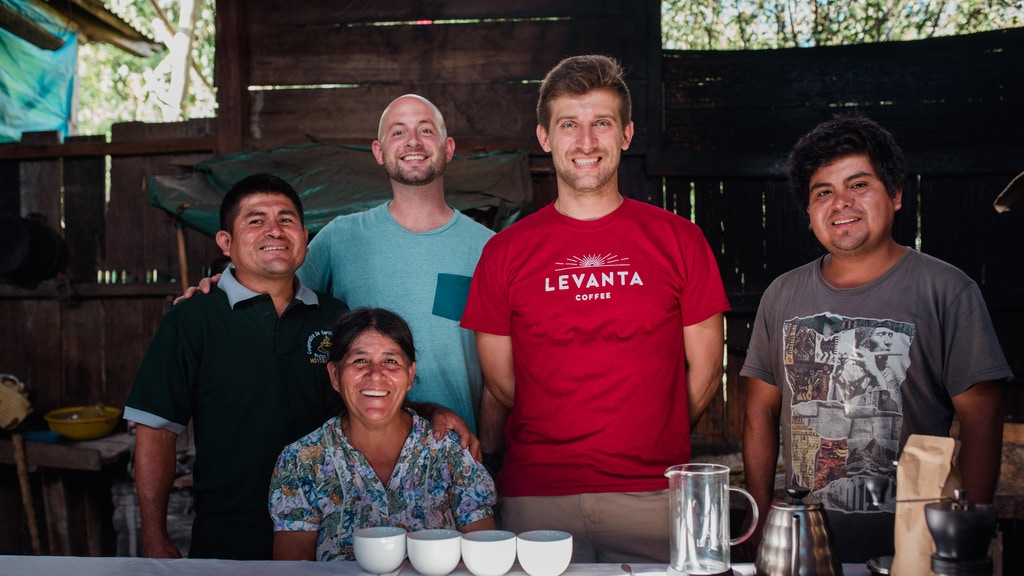 Levanta Coffee—Let's Boost Coffee Farmers' Incomes, Together project video thumbnail